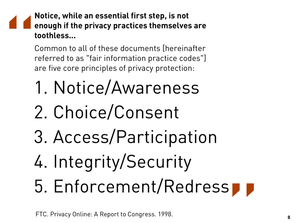 Notice, while an essential first step, is not e...