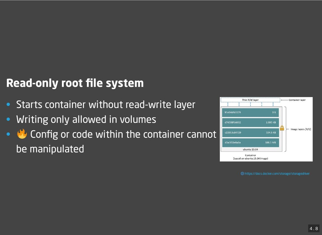 / Read-only root file system Read-only root file ...