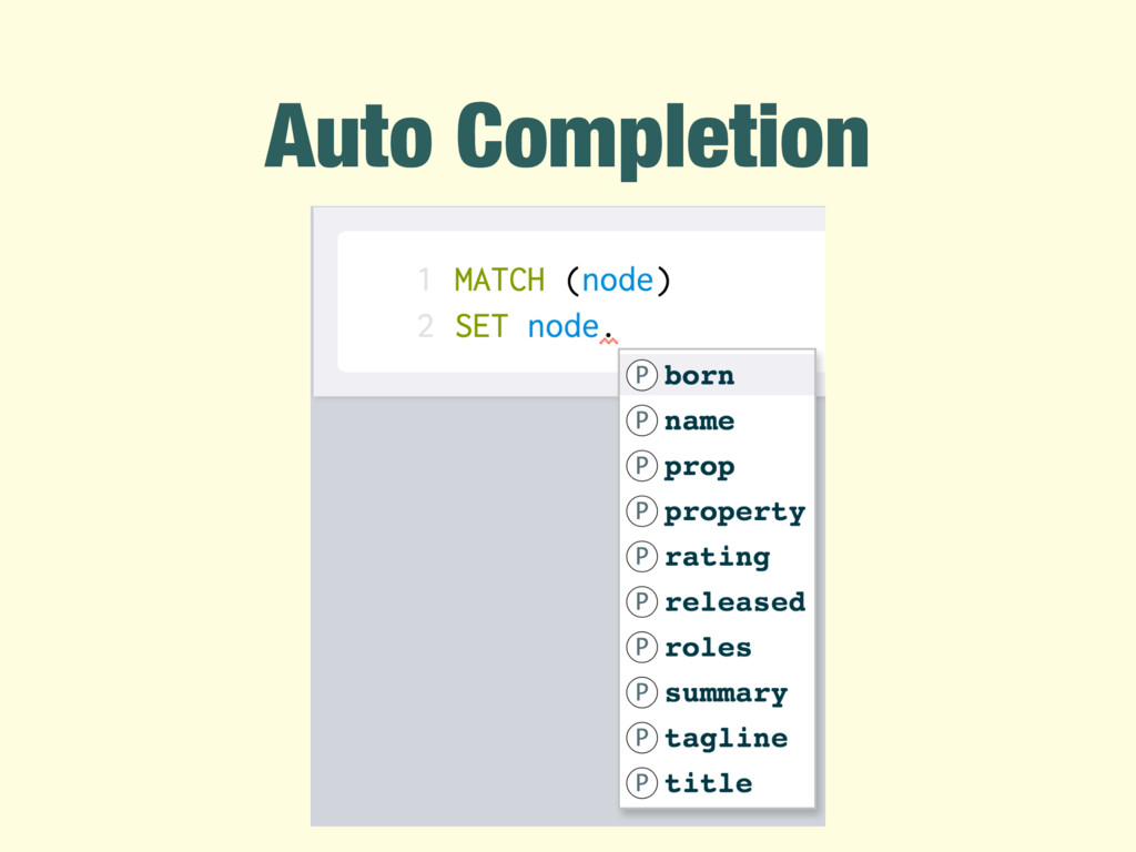 Auto Completion