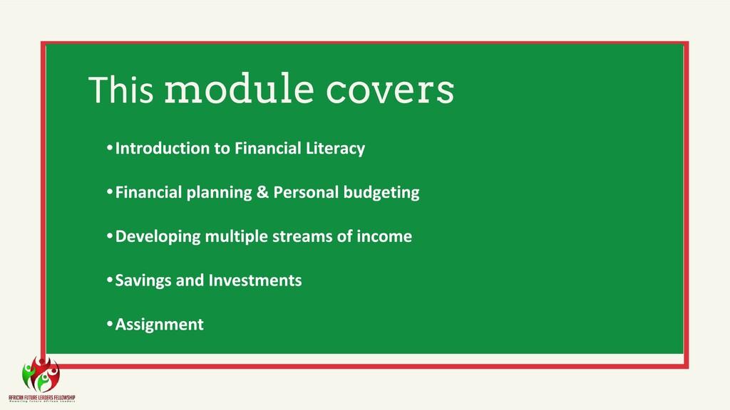 module covers • • • • •