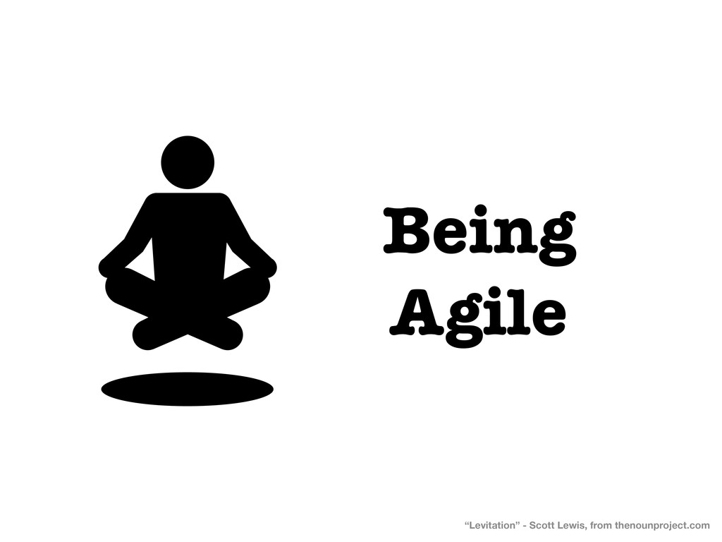 "Being Agile ""Levitation"" - Scott Lewis, from th..."
