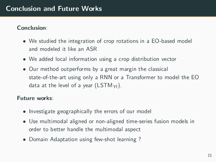 Conclusion and Future Works Conclusion: • We st...