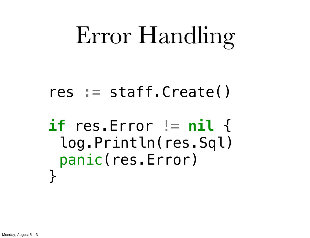 res := staff.Create() if res.Error != nil { !lo...