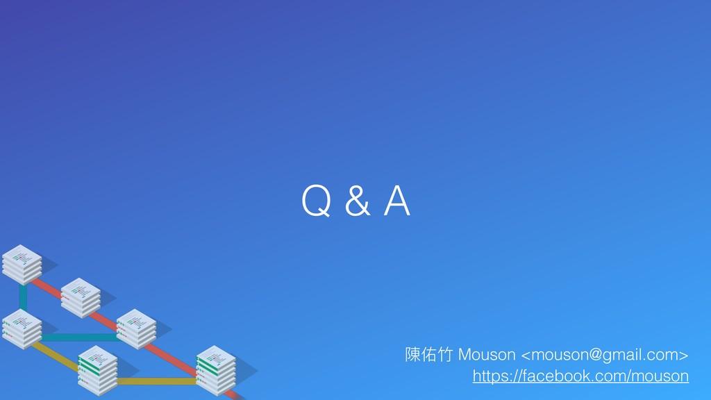Q & A 陳佑⽵竹 Mouson <mouson@gmail.com> https://fa...