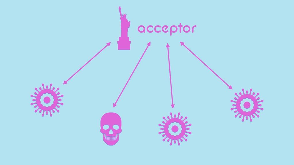 acceptor