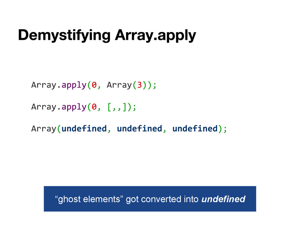 """""""ghost elements"""" got converted into undefined"""