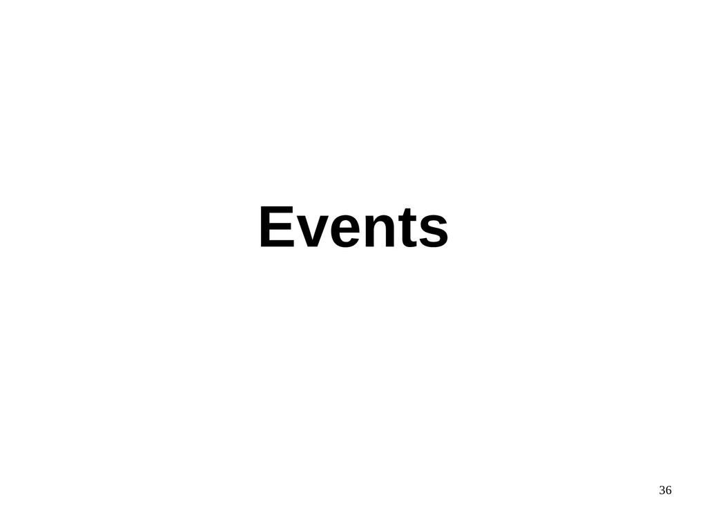 36 Events