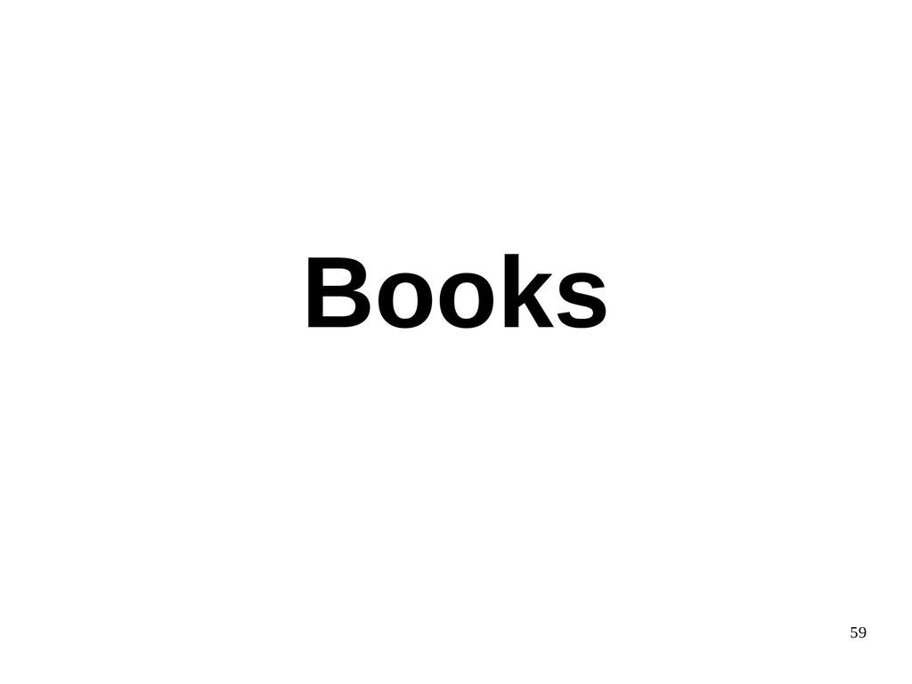 59 Books