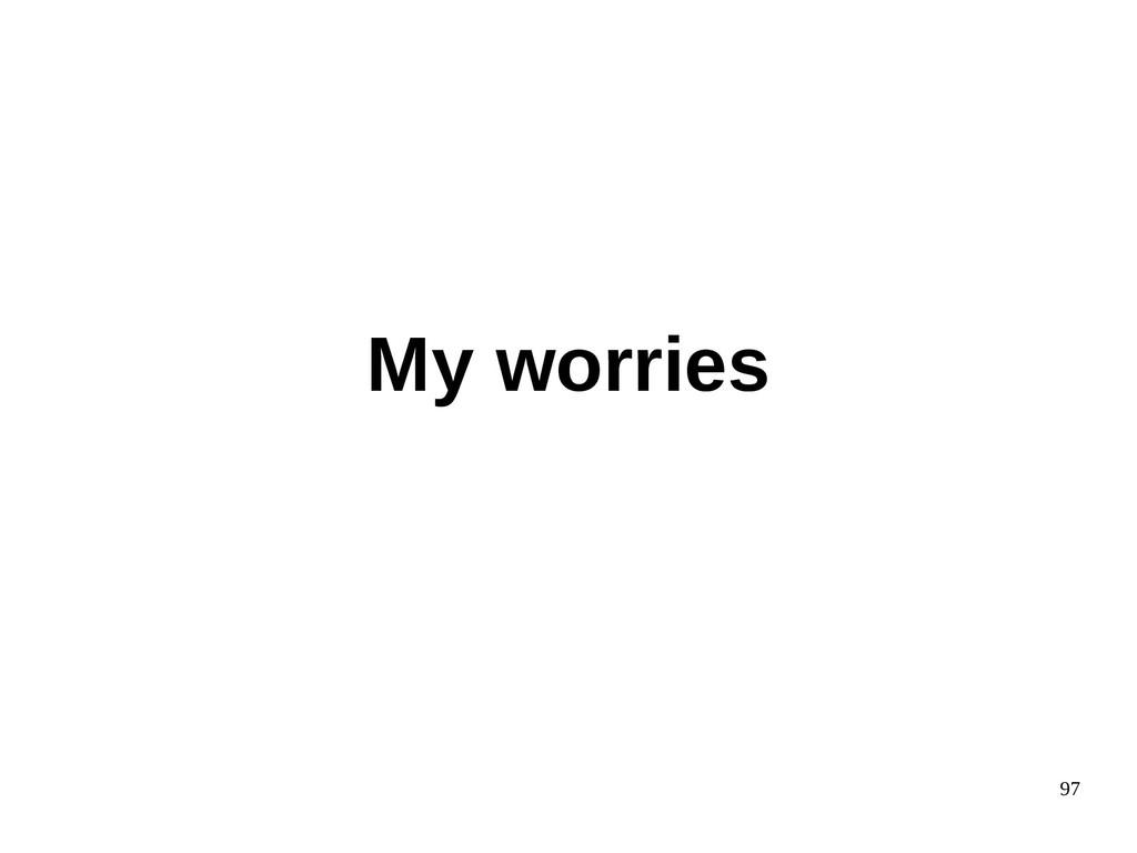 97 My worries