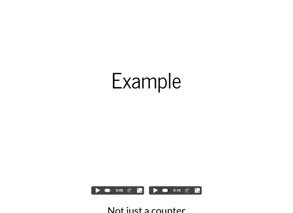 Example 0:09 0:14