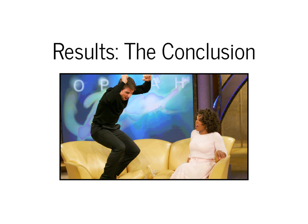 Results: The Conclusion