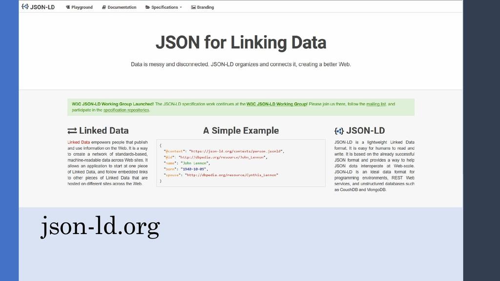 json-ld.org