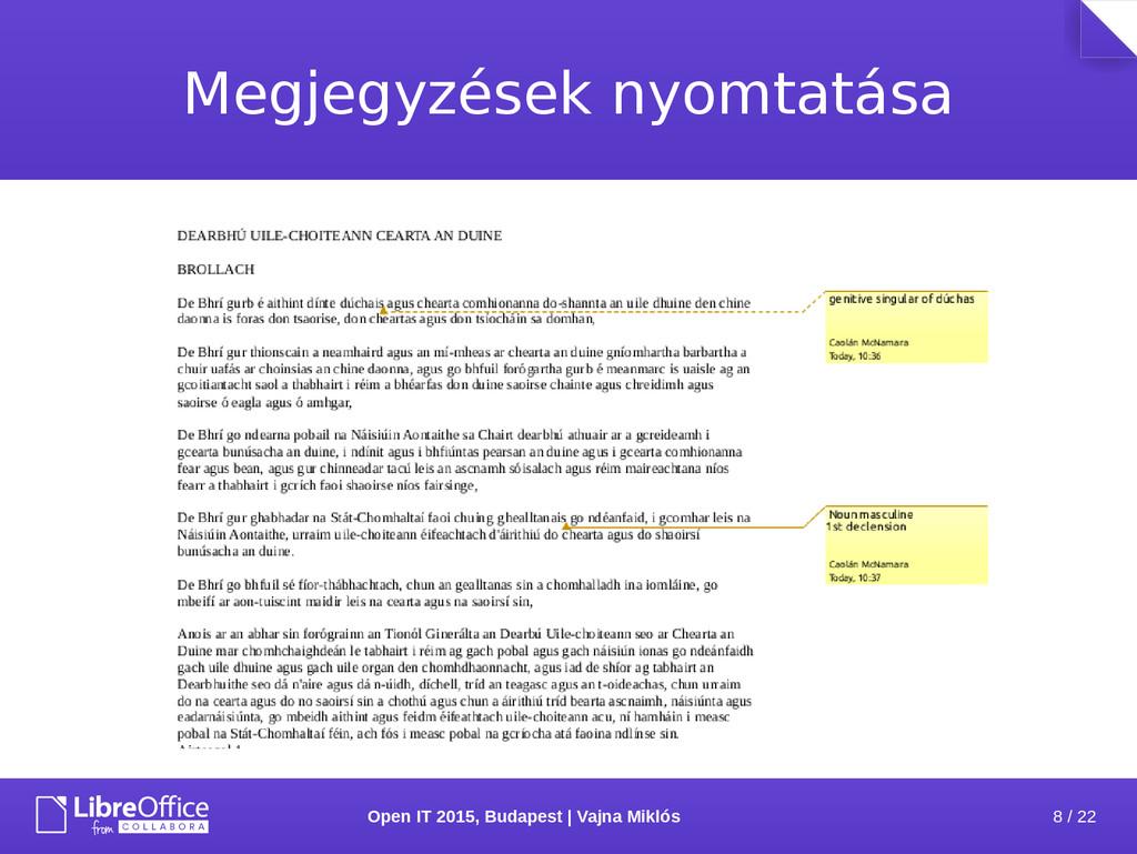 8 / 22 Open IT 2015, Budapest | Vajna Miklós Me...