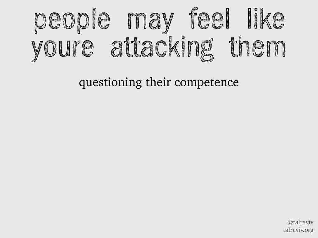 @talraviv talraviv.org questioning their compet...