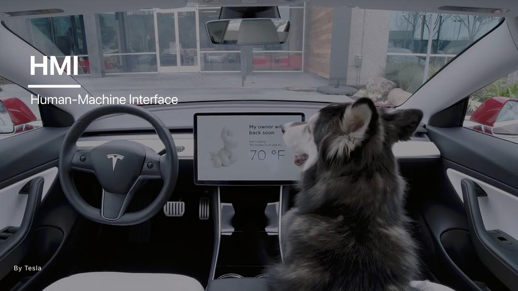 HMI By Tesla Human-Machine Interface