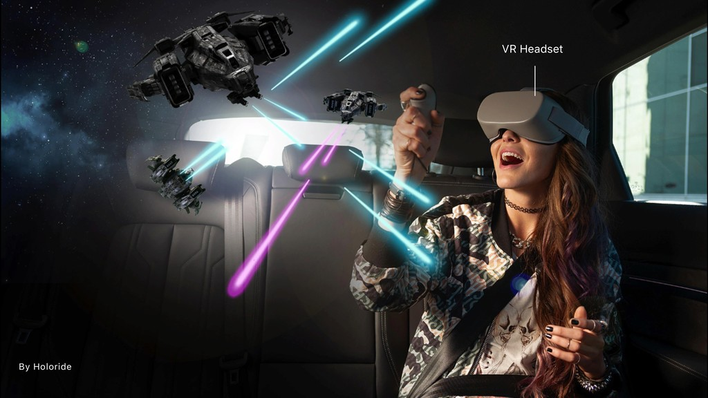 By Holoride VR Headset