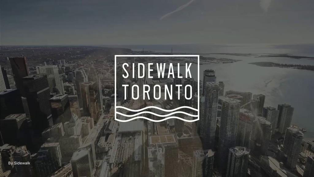 By Sidewalk