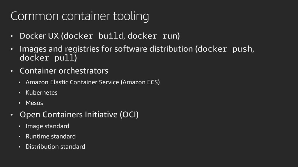 Common container tooling • Docker UX (docker bu...
