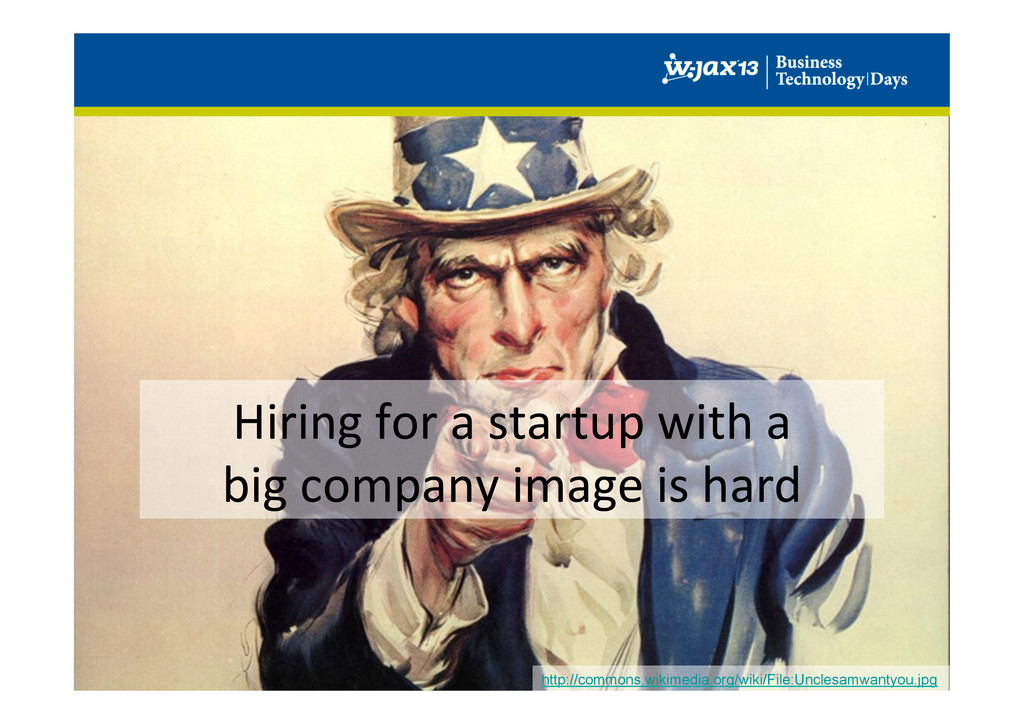 Hiring for a startup with a ...