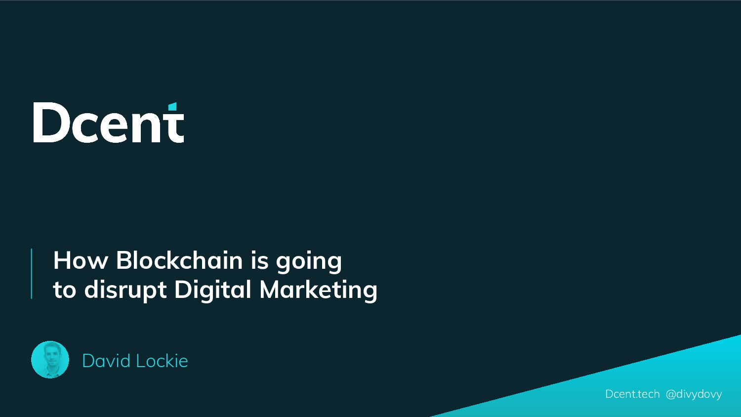 How Blockchain is going to disrupt Digital Mark...