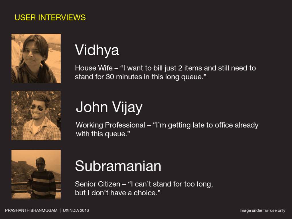 """USER INTERVIEWS Vidhya House Wife – """"I want to ..."""