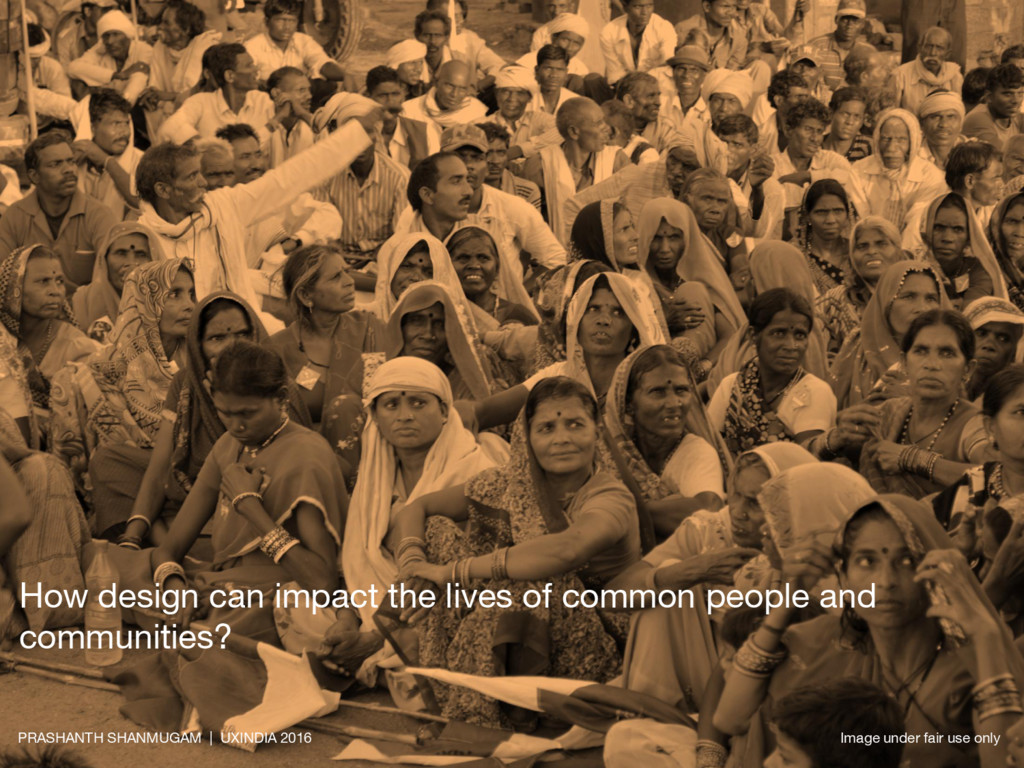 How design can impact the lives of common peopl...