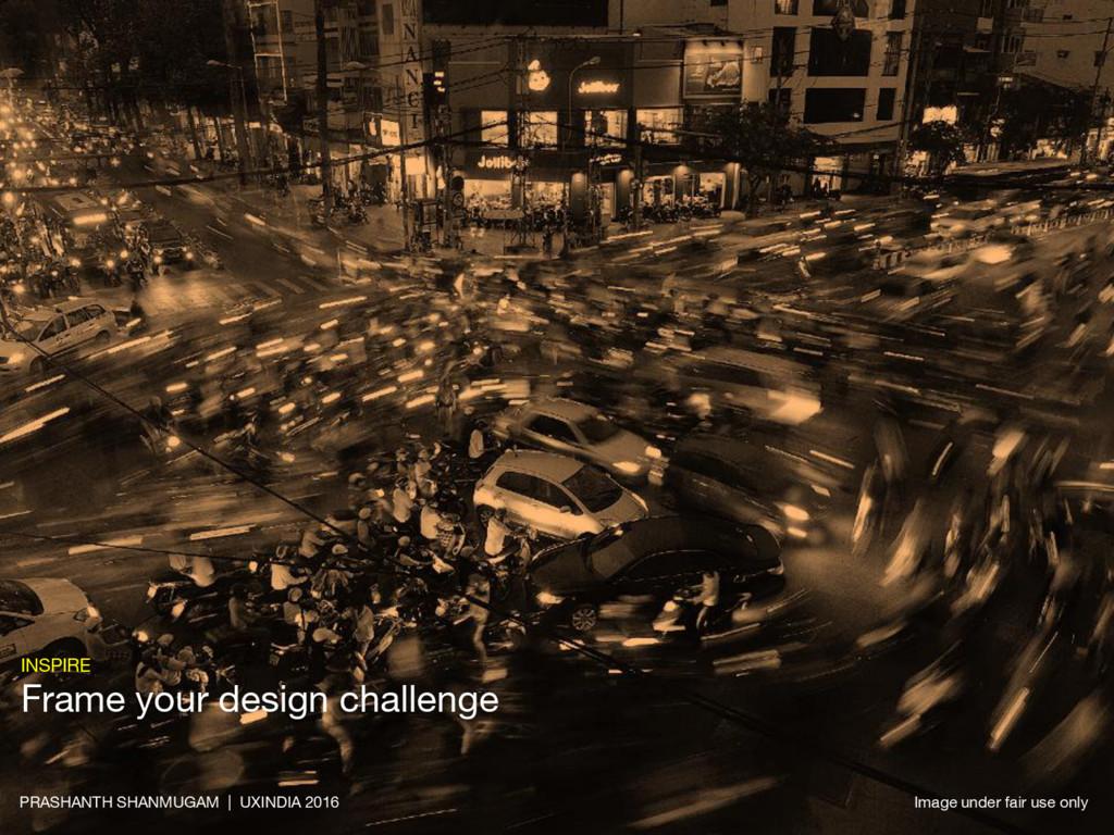 INSPIRE Frame your design challenge PRASHANTH S...