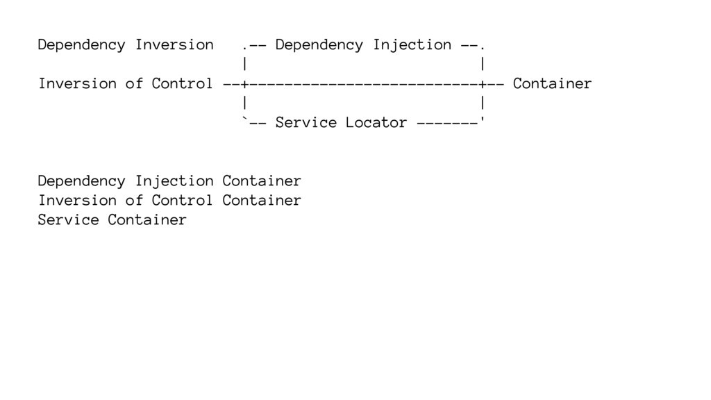 Dependency Inversion .-- Dependency Injection -...
