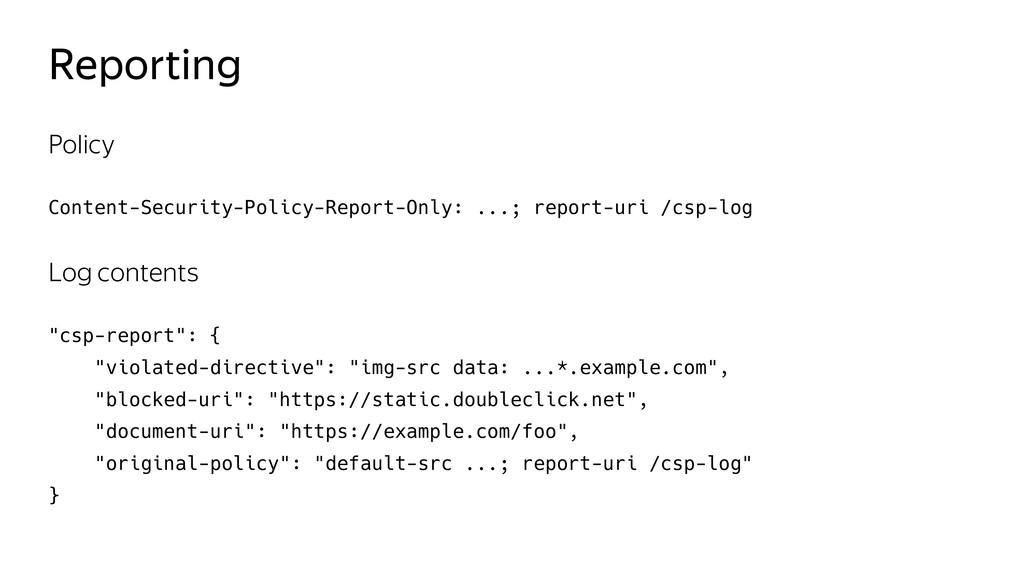 Reporting Policy Content-Security-Policy-Report...