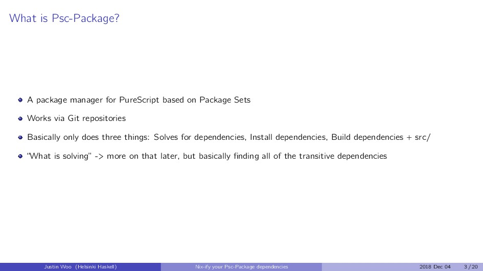 What is Psc-Package? A package manager for Pure...