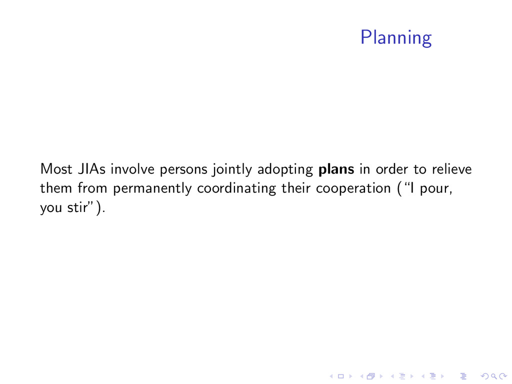 Planning Most JIAs involve persons jointly adop...