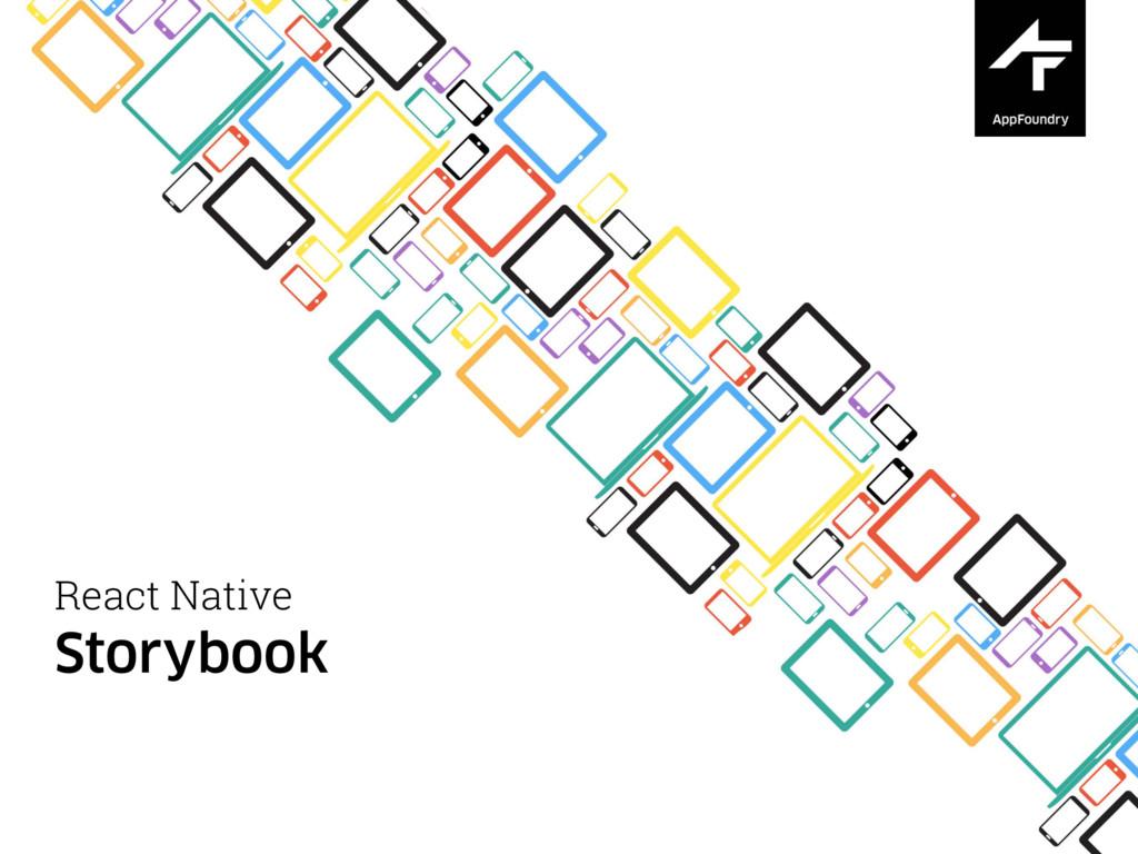 React Native Storybook