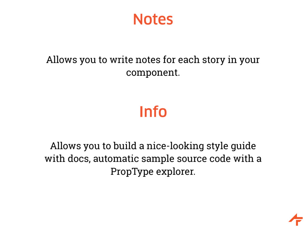 Notes Allows you to write notes for each story ...