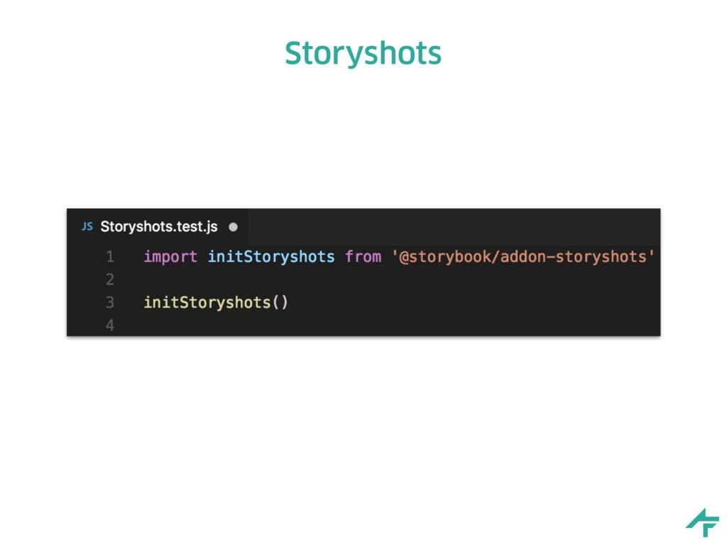 Storyshots