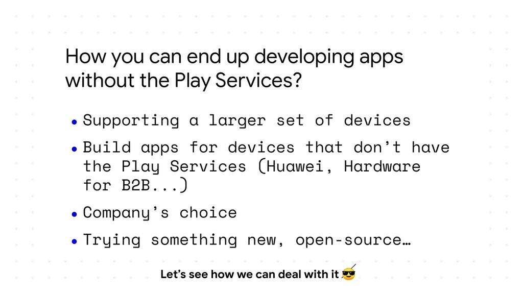 How you can end up developing apps without the ...