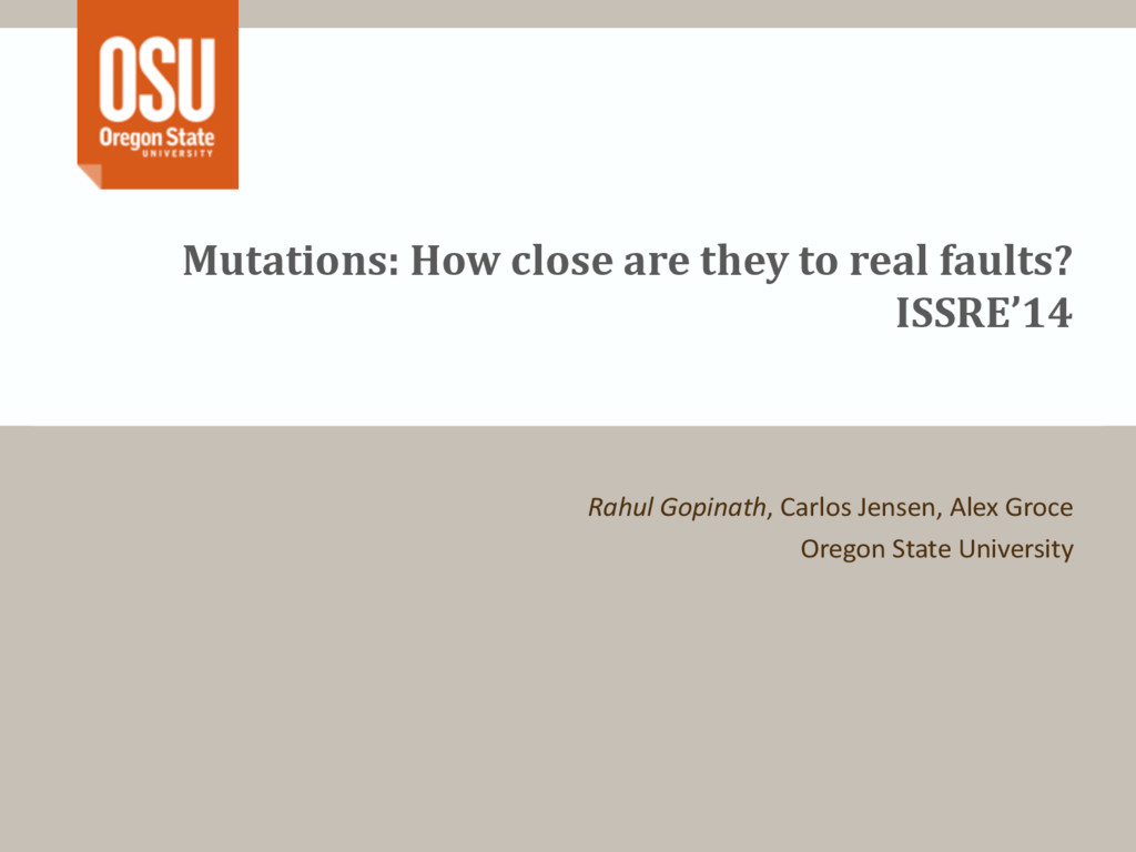 Mutations: How close are they to real faults? ...