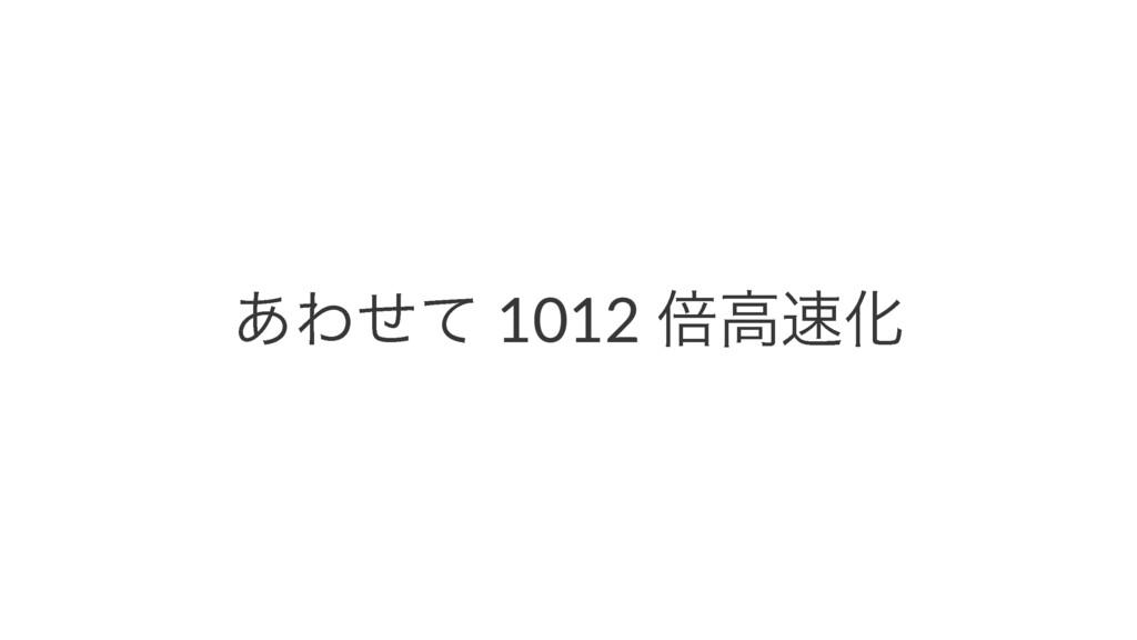͋Θͤͯ 1012 ഒߴԽ