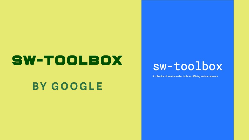 SW-TOOLBOX BY GO OGLE