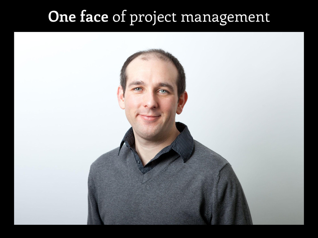 One face of project management