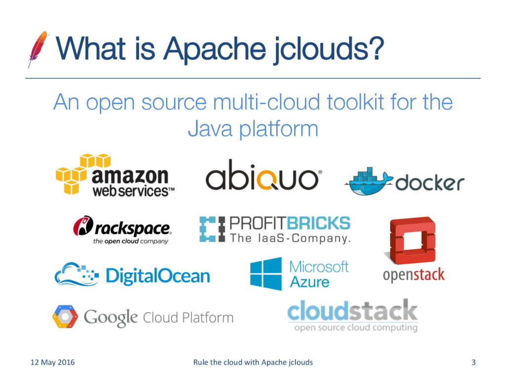 What is Apache jclouds?