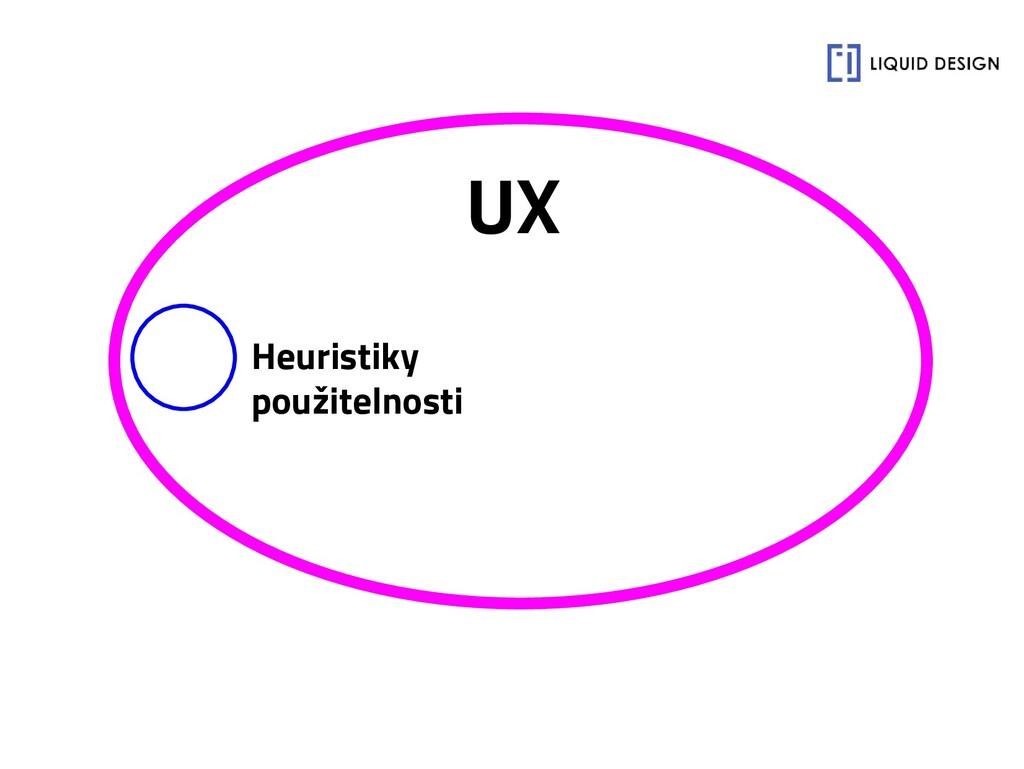 UX Heuristiky použitelnosti