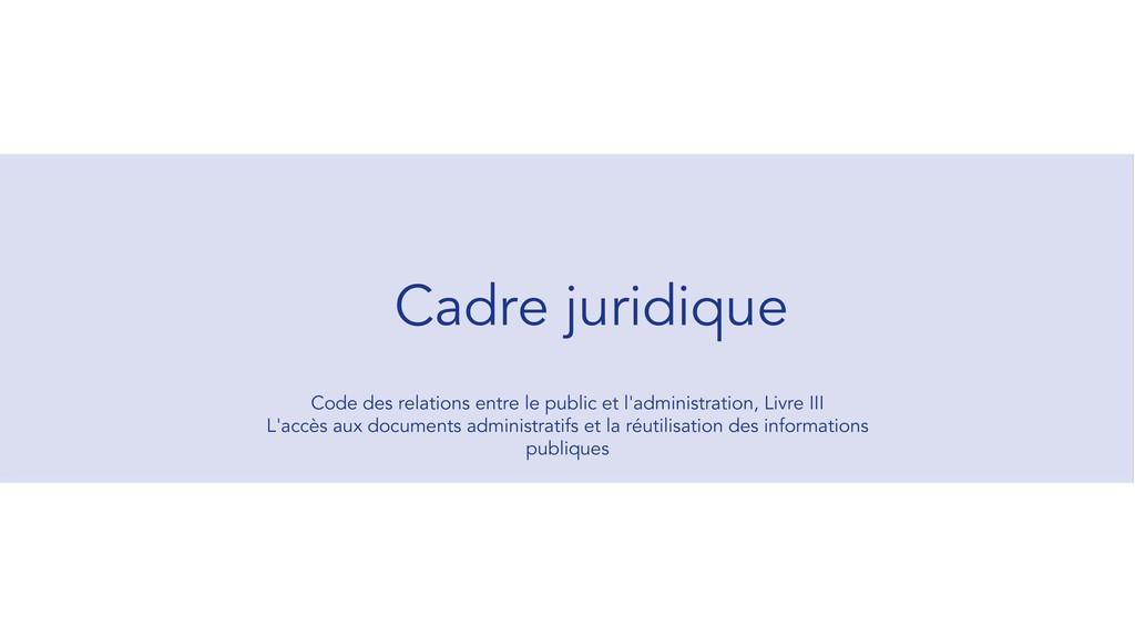Code des relations entre le public et l'adminis...