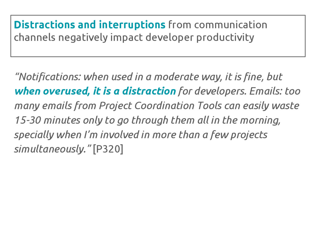 """Notifications: when used in a moderate way, it..."