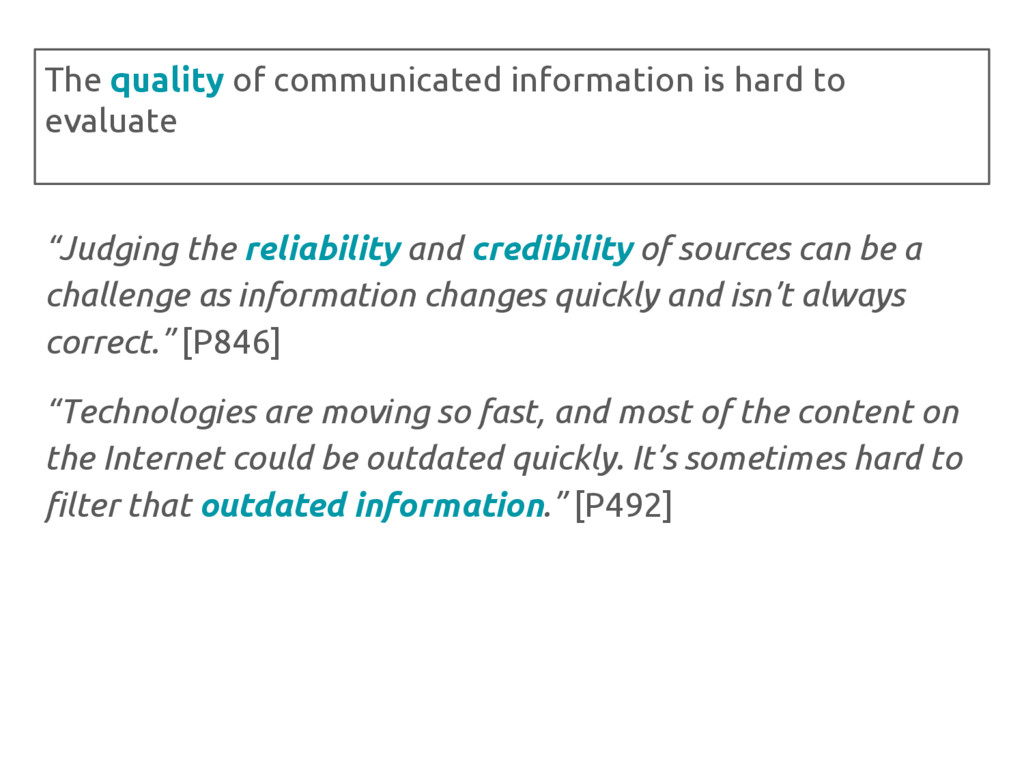 """Judging the reliability and credibility of sou..."