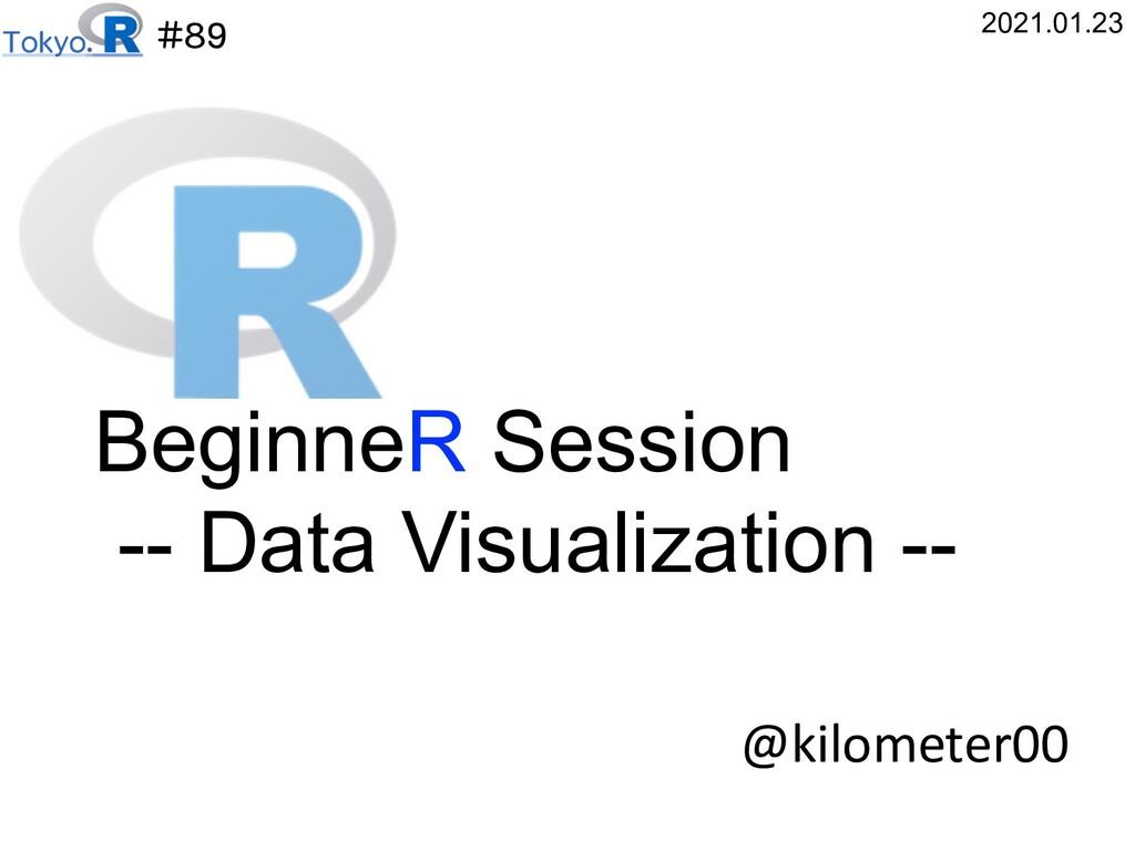 #89 @kilometer00 2021.01.23 BeginneR Session --...