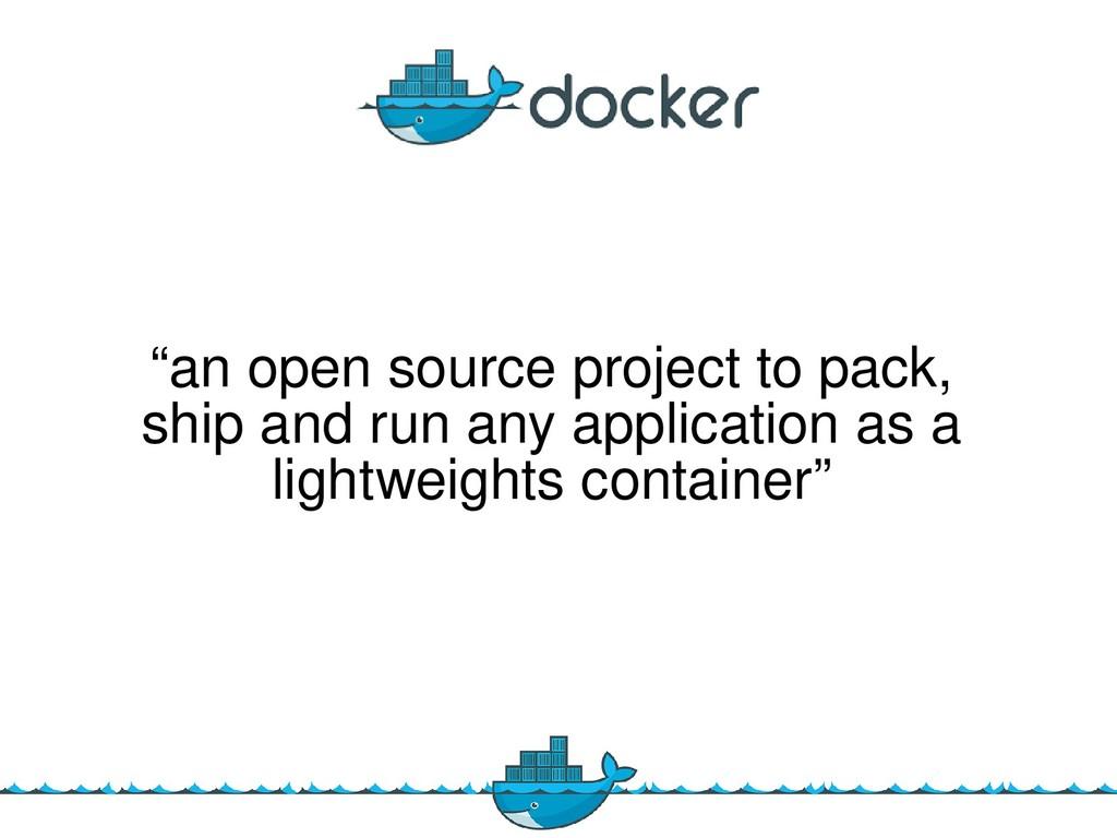 """ane opene sourcee projecte toe pack,e  shipe a..."