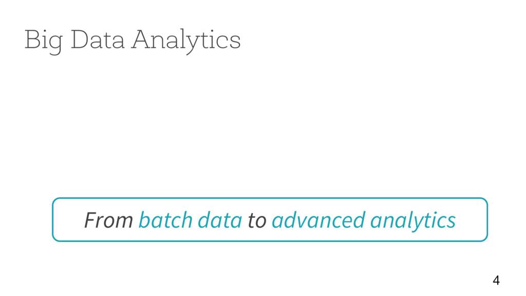 From batch data to advanced analytics 4 Big Dat...