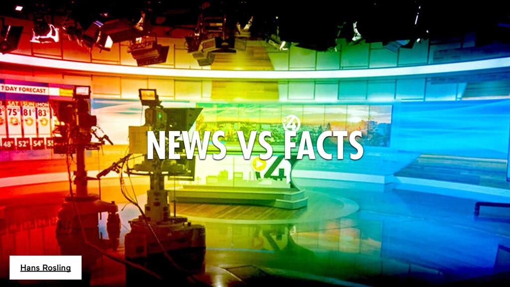 NEWS VS FACTS Hans Rosling