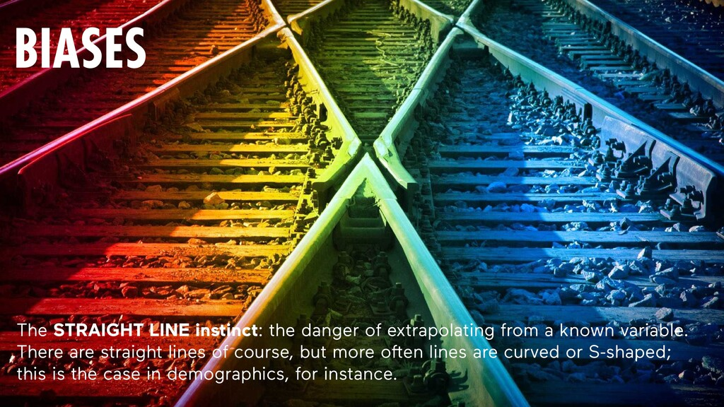 221 The STRAIGHT LINE instinct: the danger of e...