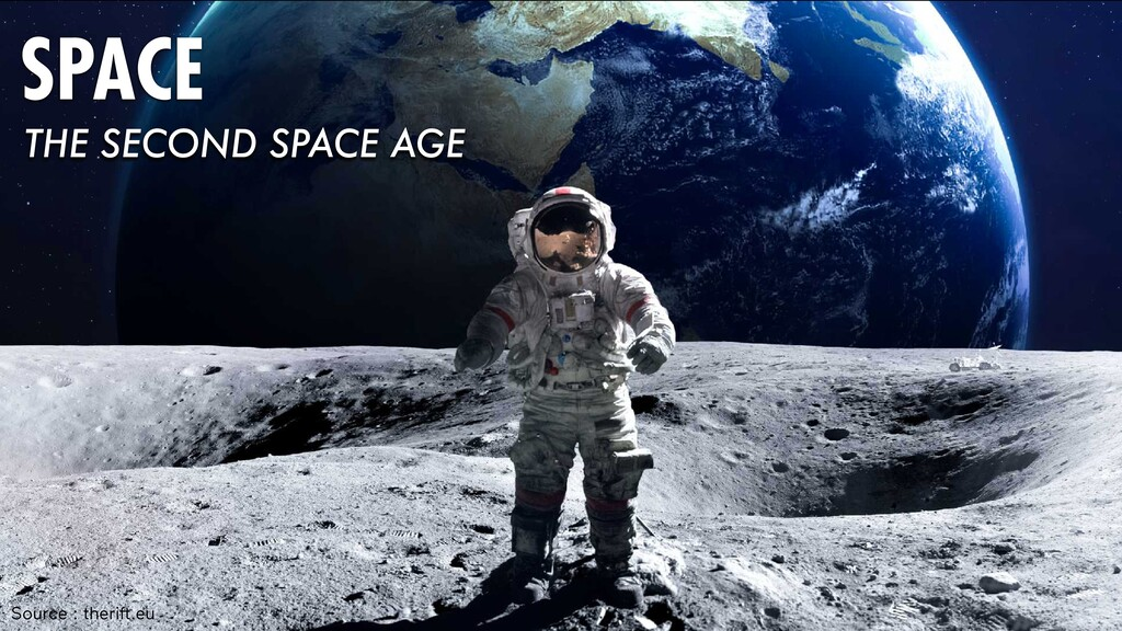 Source : theri .eu SPACE THE SECOND SPACE AGE